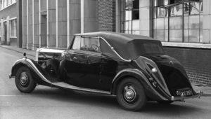 Drophead Bentley